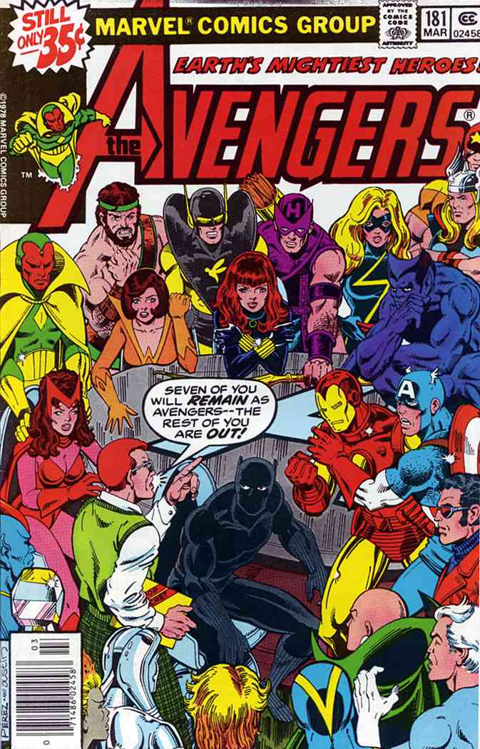 Avengers, The comic issue 181
