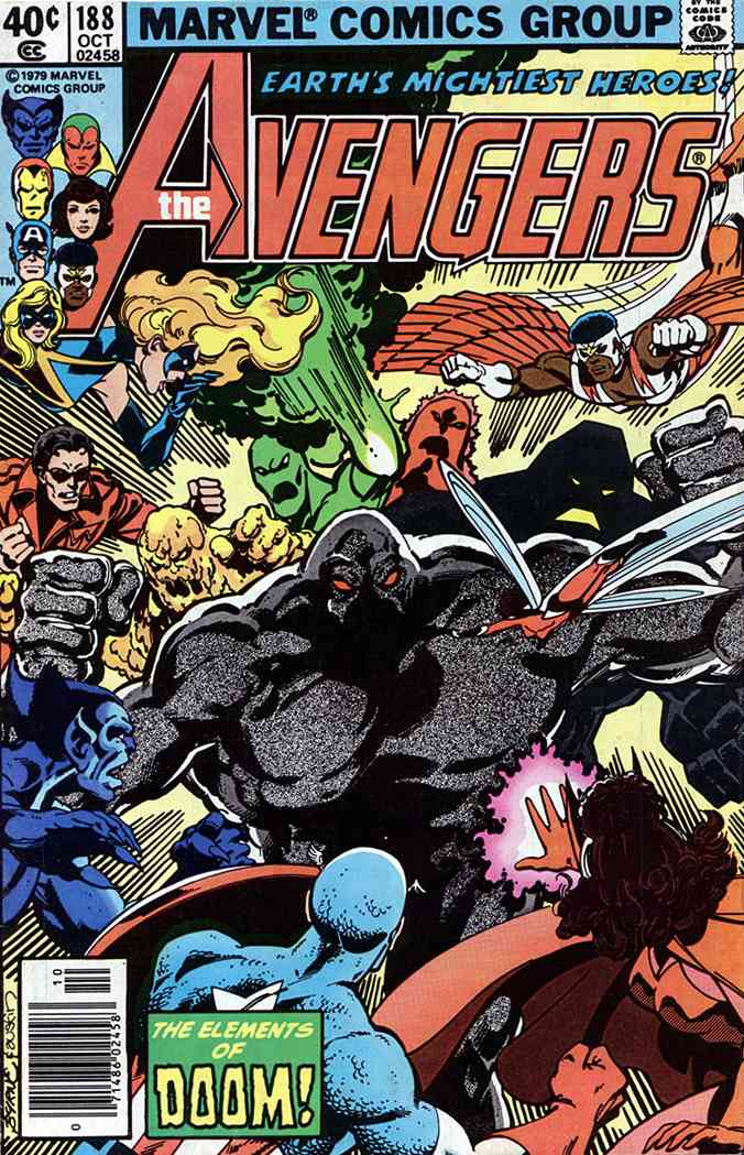 Avengers, The comic issue 188