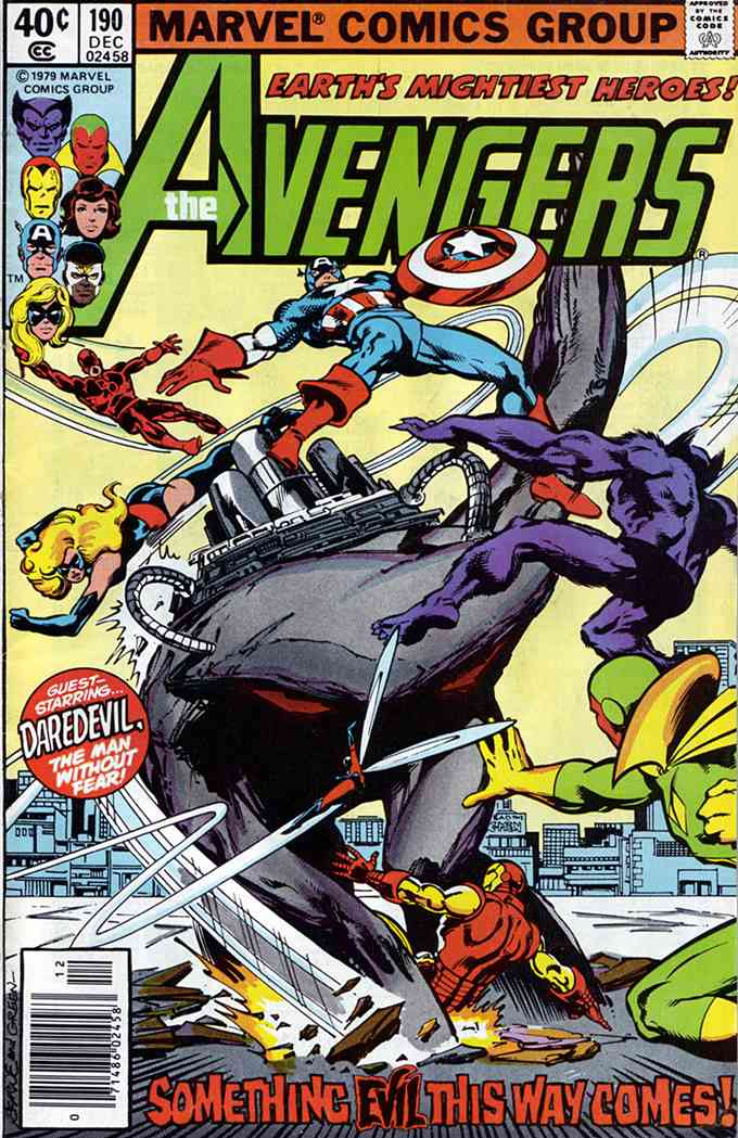 Avengers, The comic issue 190