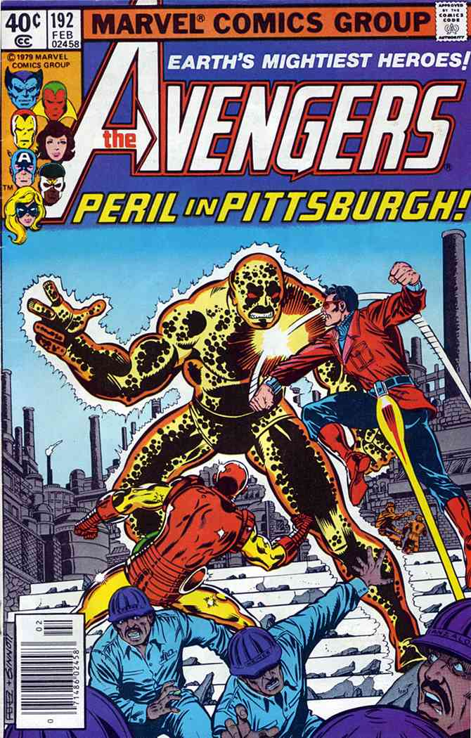 Avengers, The comic issue 192