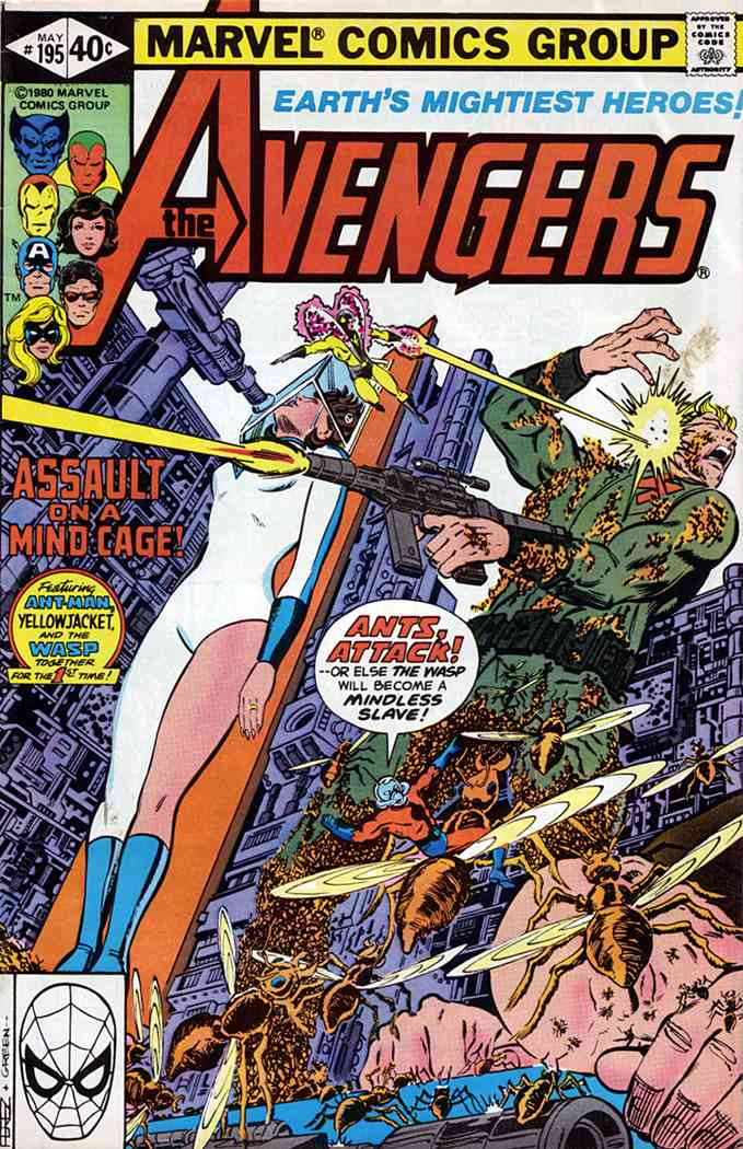 Avengers, The comic issue 195