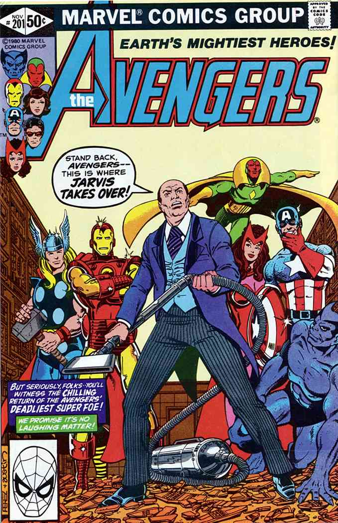 Avengers, The comic issue 201