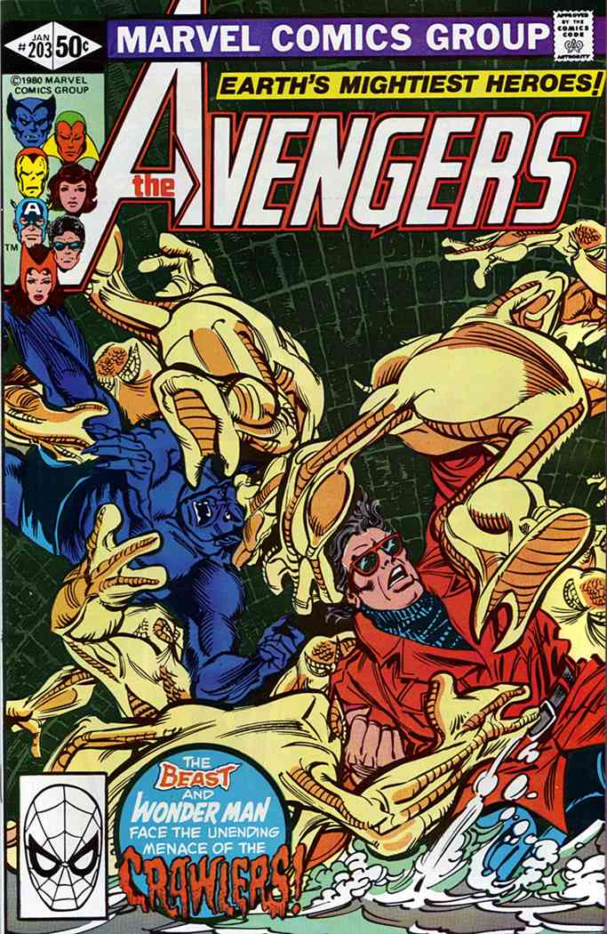 Avengers, The comic issue 203