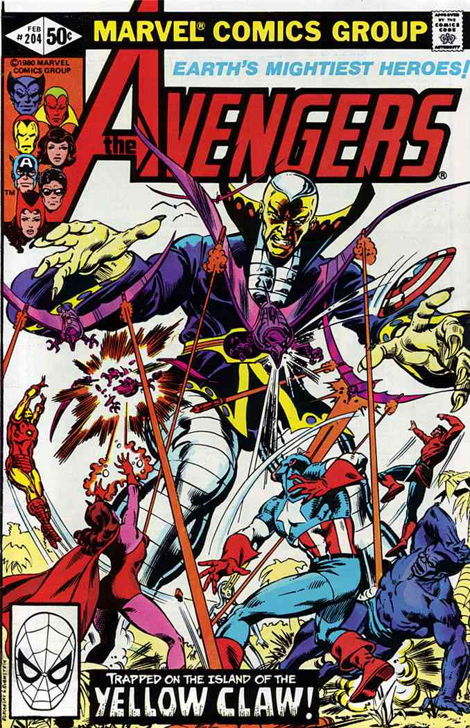 Avengers, The comic issue 204