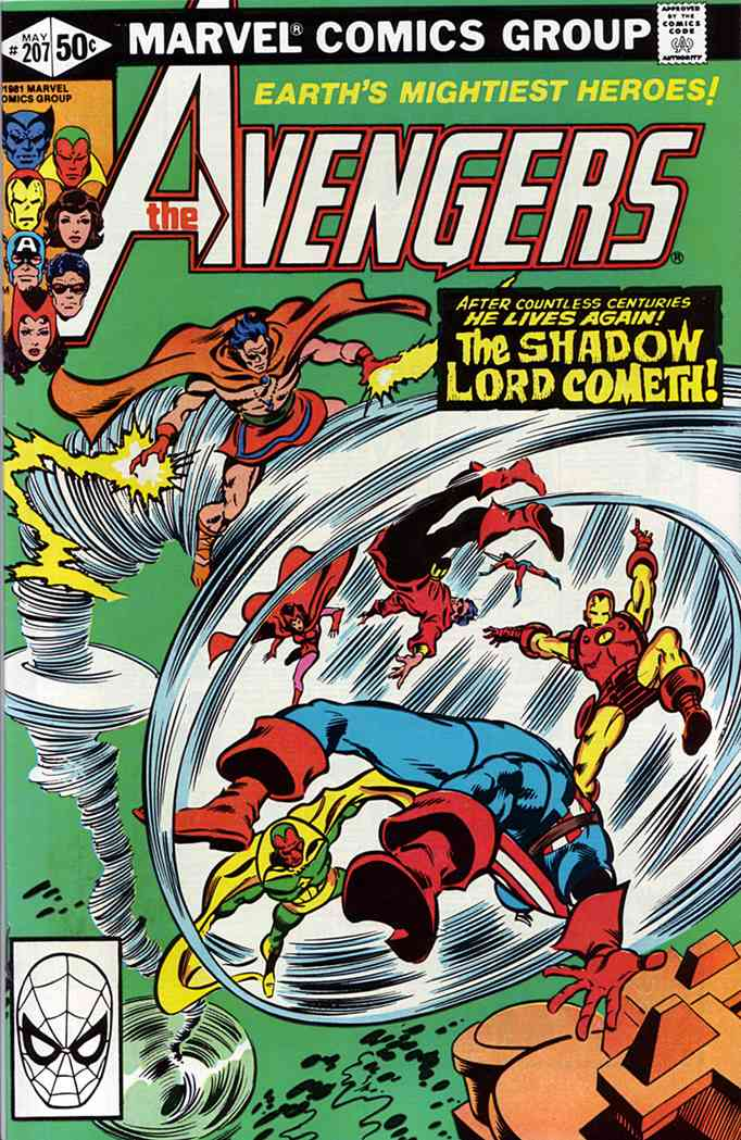 Avengers, The comic issue 207