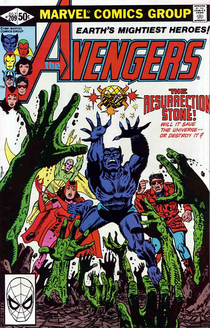 Avengers, The comic issue 209