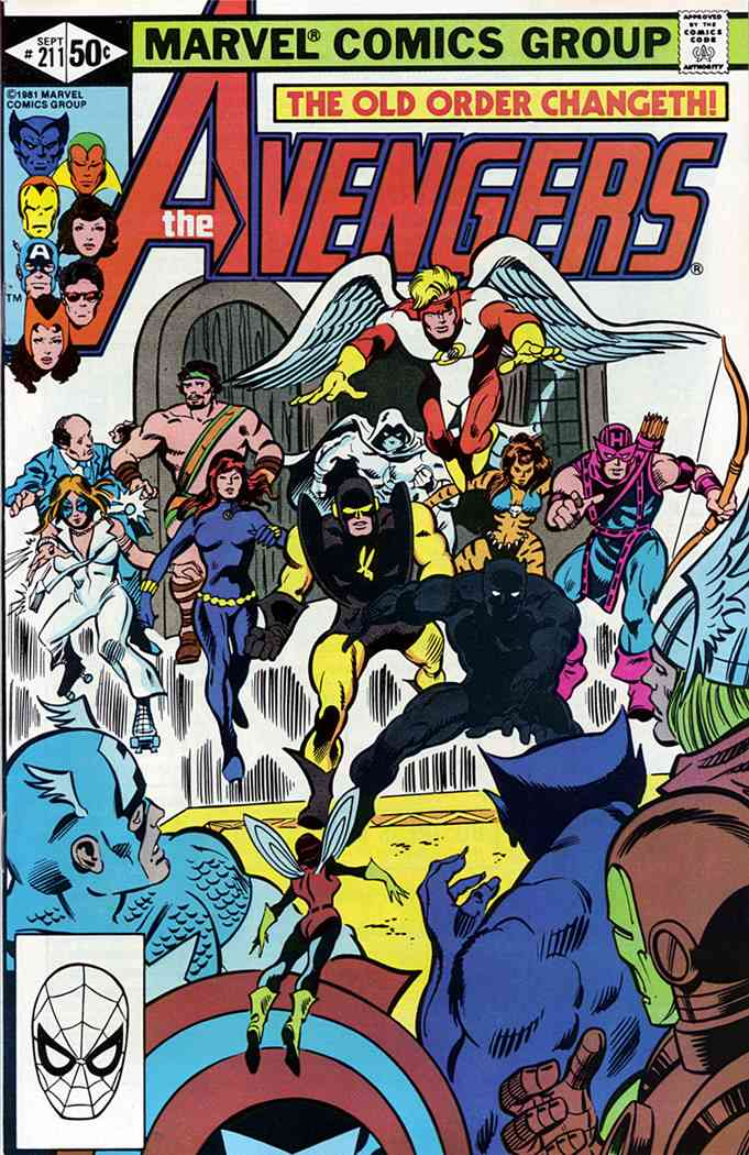 Avengers, The comic issue 211