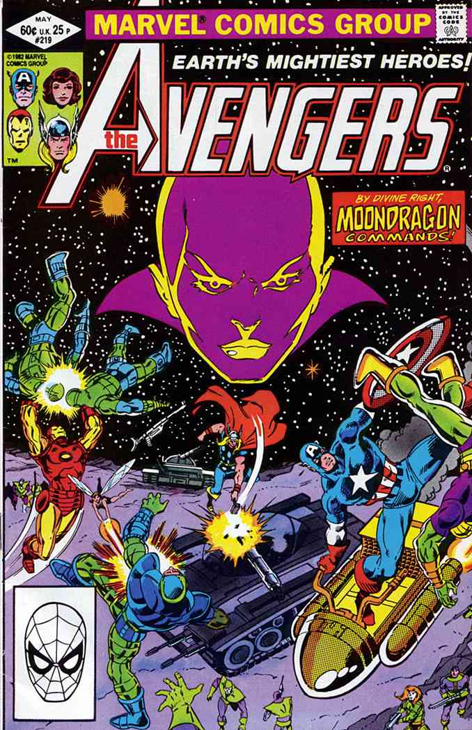 Avengers, The comic issue 219