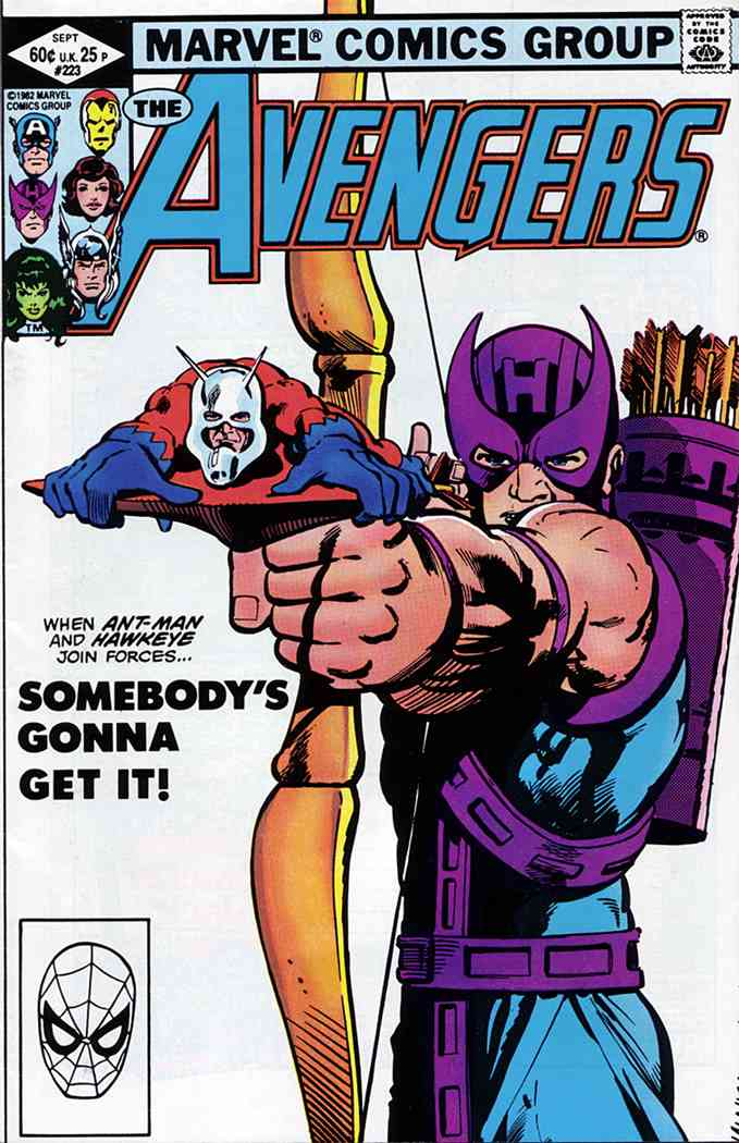 Avengers, The comic issue 223