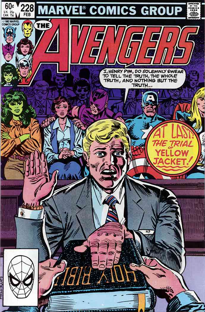 Avengers, The comic issue 228