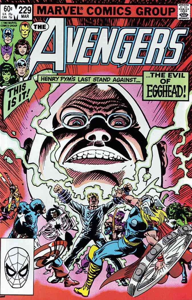 Avengers, The comic issue 229