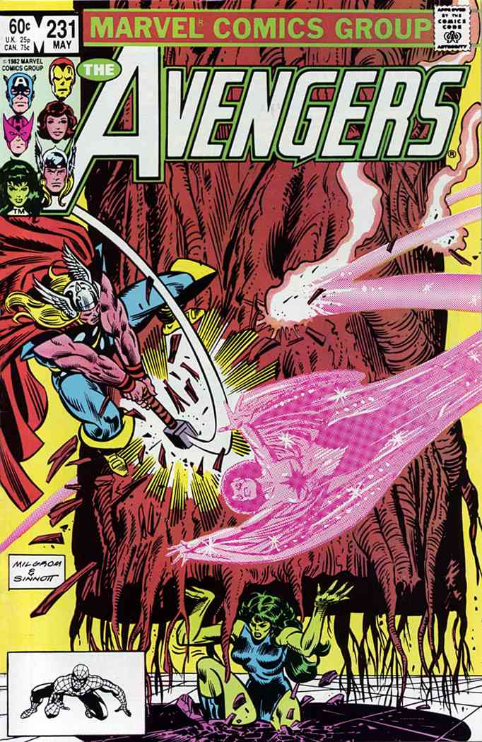 Avengers, The comic issue 231