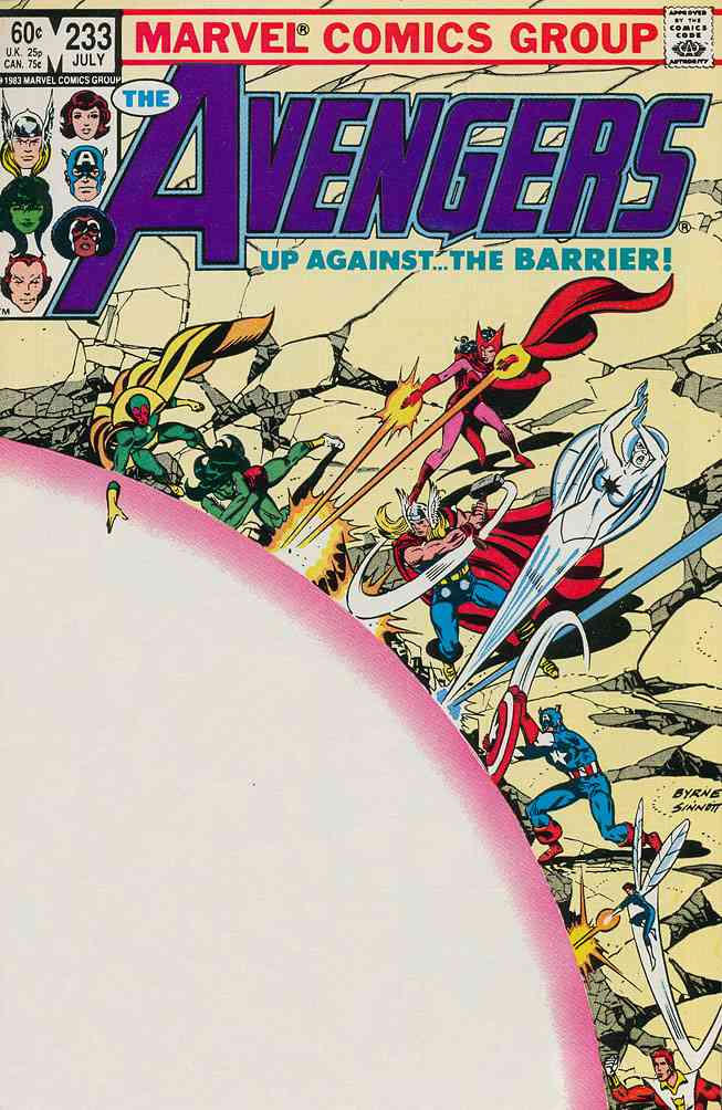 Avengers, The comic issue 233