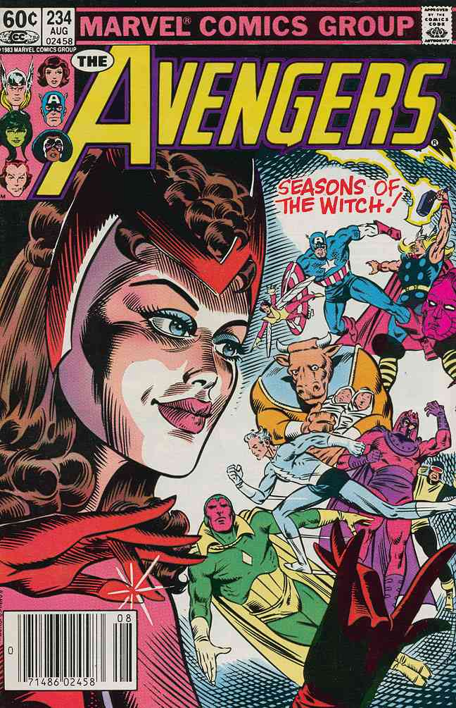 Avengers, The comic issue 234