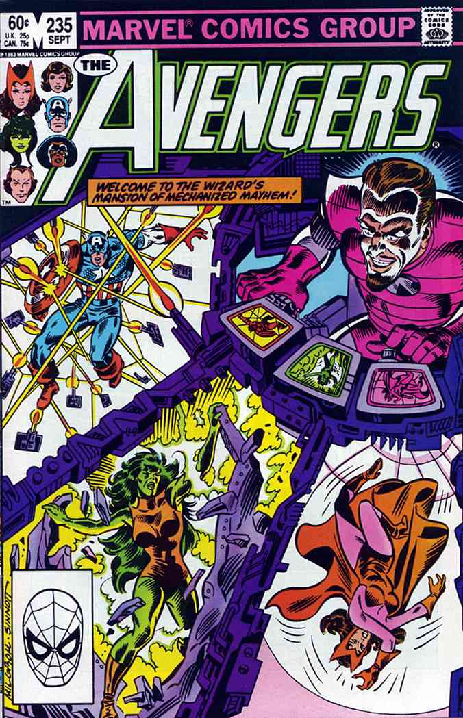 Avengers, The comic issue 235