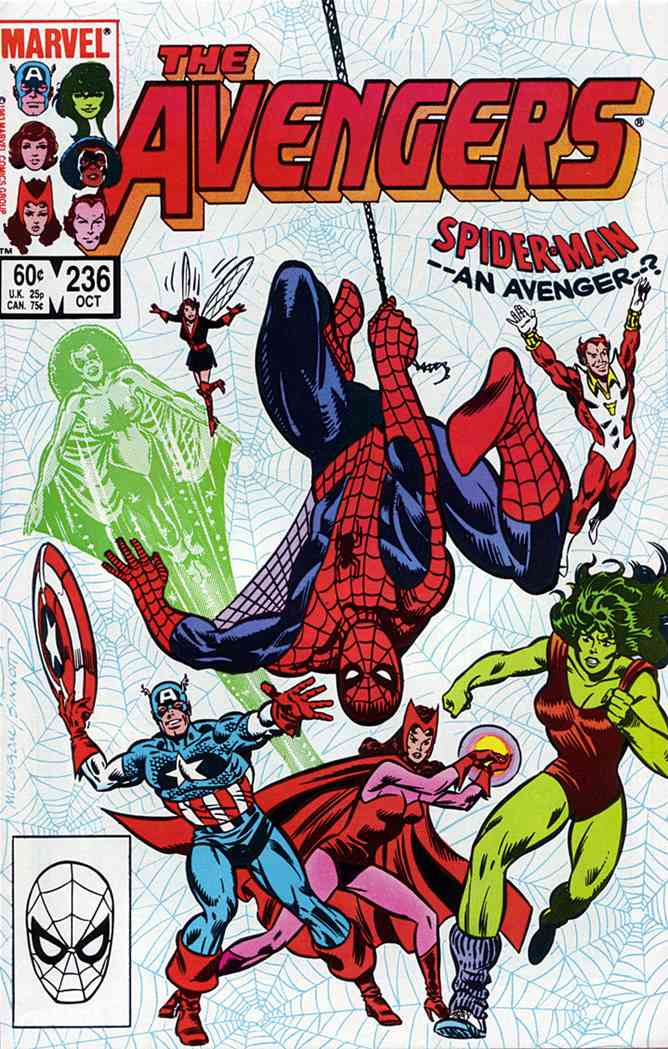 Avengers, The comic issue 236