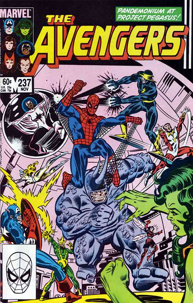 Avengers, The comic issue 237