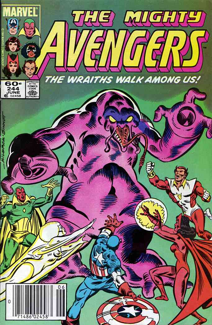 Avengers, The comic issue 244