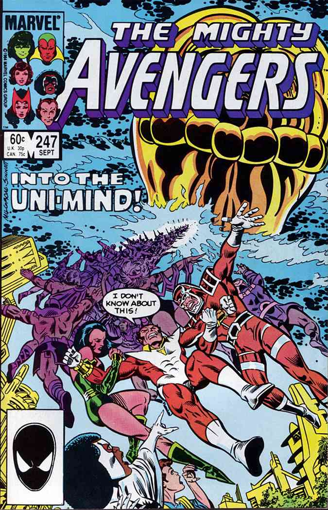 Avengers, The comic issue 247