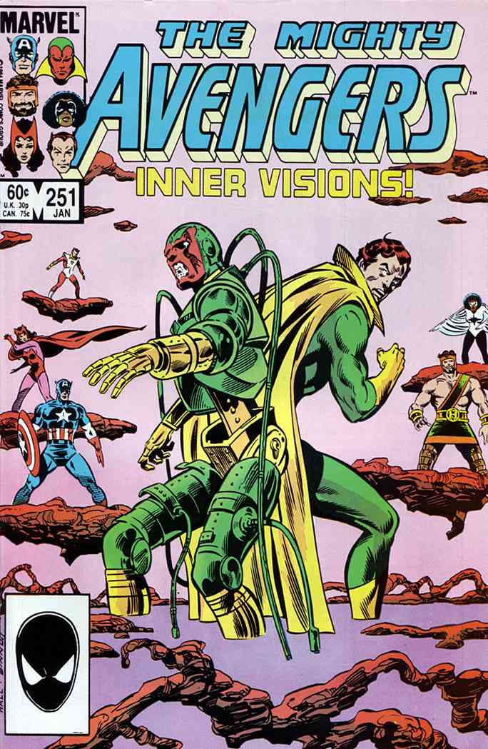 Avengers, The comic issue 251