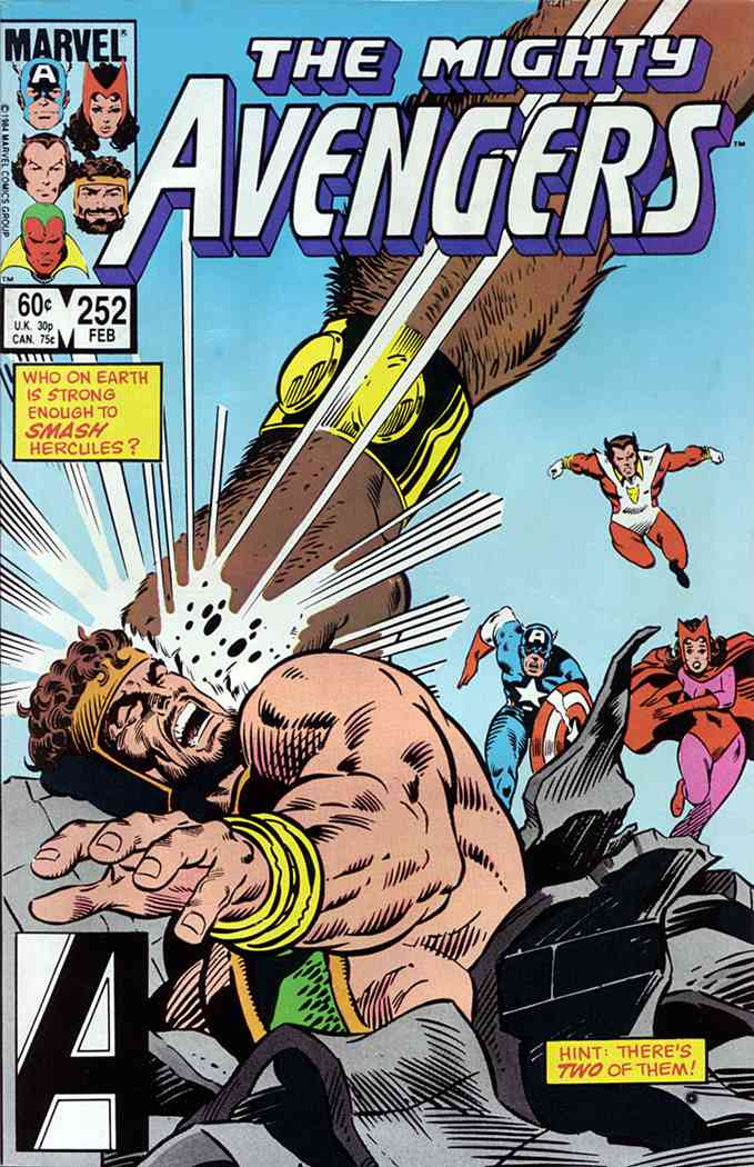 Avengers, The comic issue 252