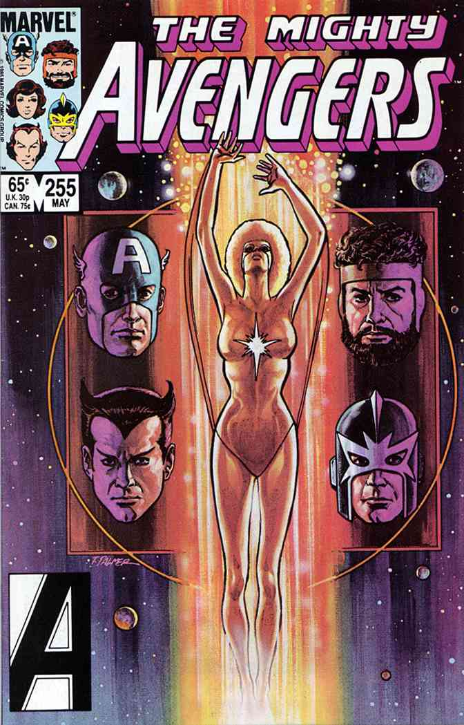 Avengers, The comic issue 255