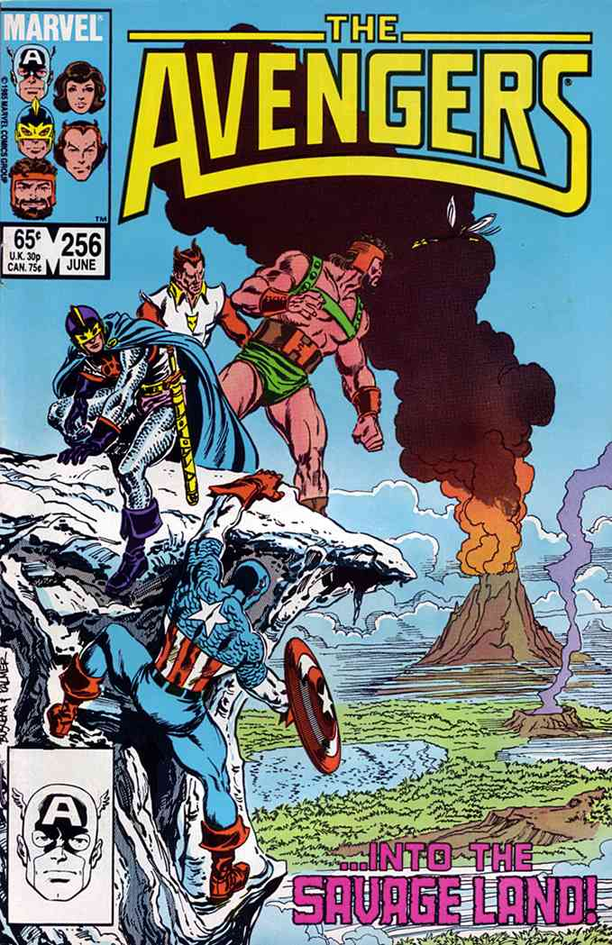Avengers, The comic issue 256