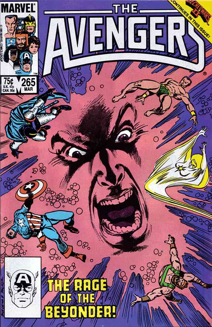 Avengers, The comic issue 265