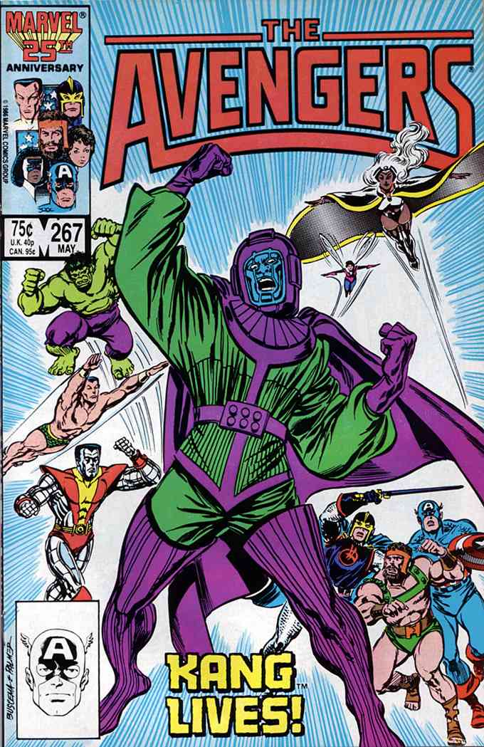 Avengers, The comic issue 267