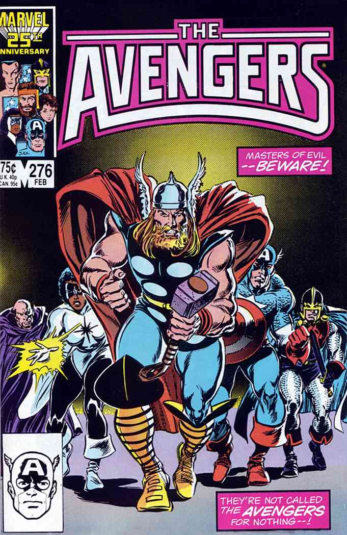 Avengers, The comic issue 276