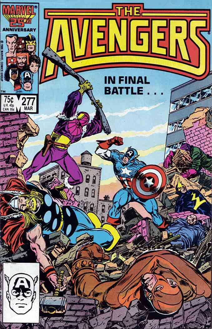 Avengers, The comic issue 277
