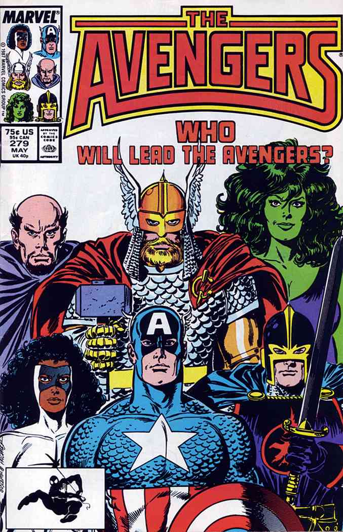 Avengers, The comic issue 279