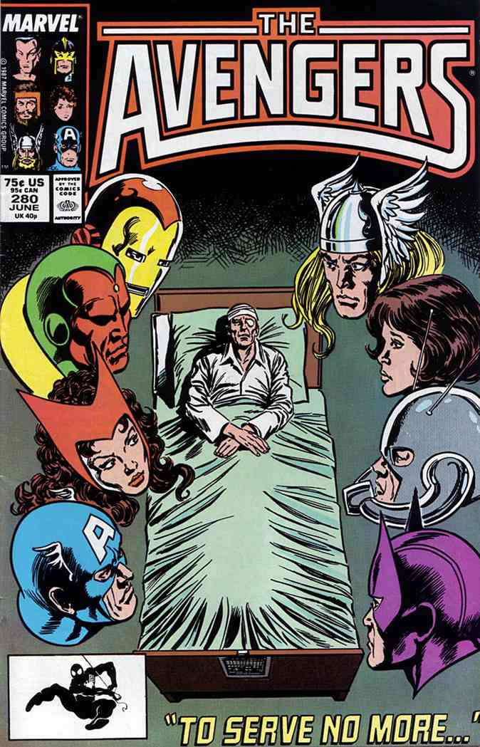 Avengers, The comic issue 280