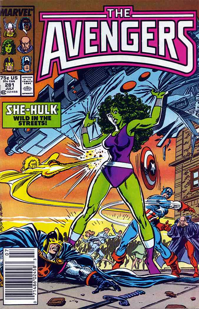 Avengers, The comic issue 281
