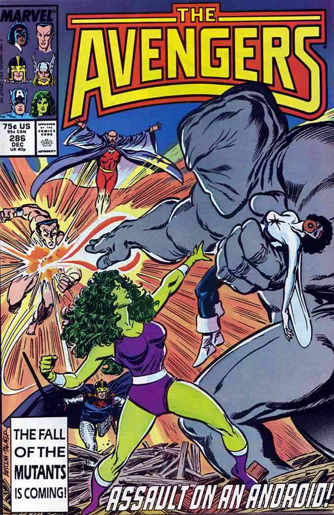 Avengers, The comic issue 286