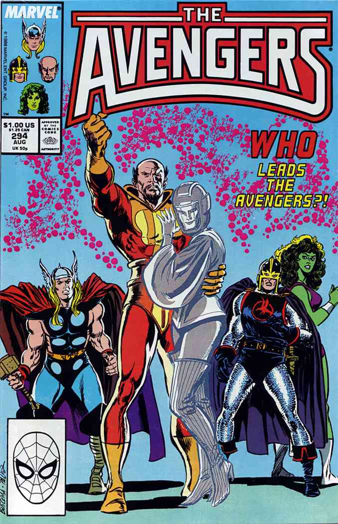 Avengers, The comic issue 294