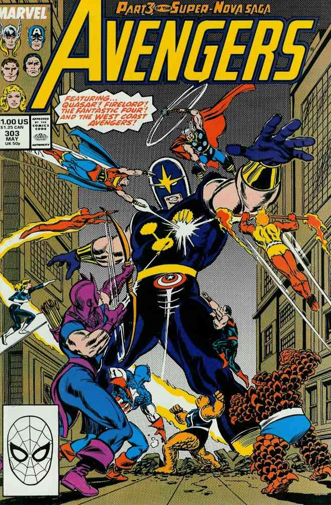 Avengers, The comic issue 303