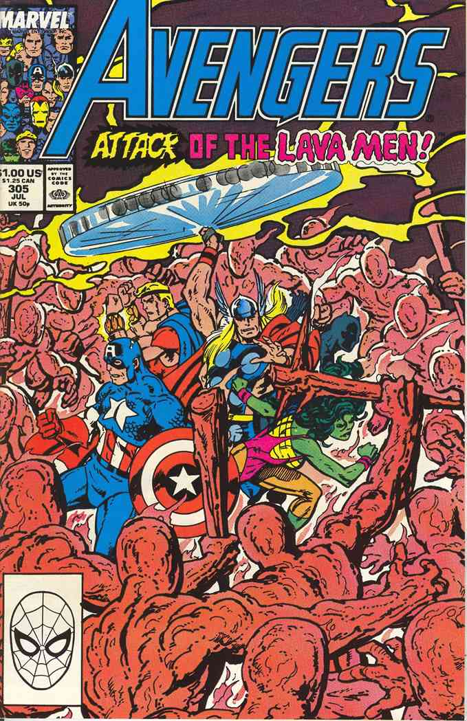 Avengers, The comic issue 305