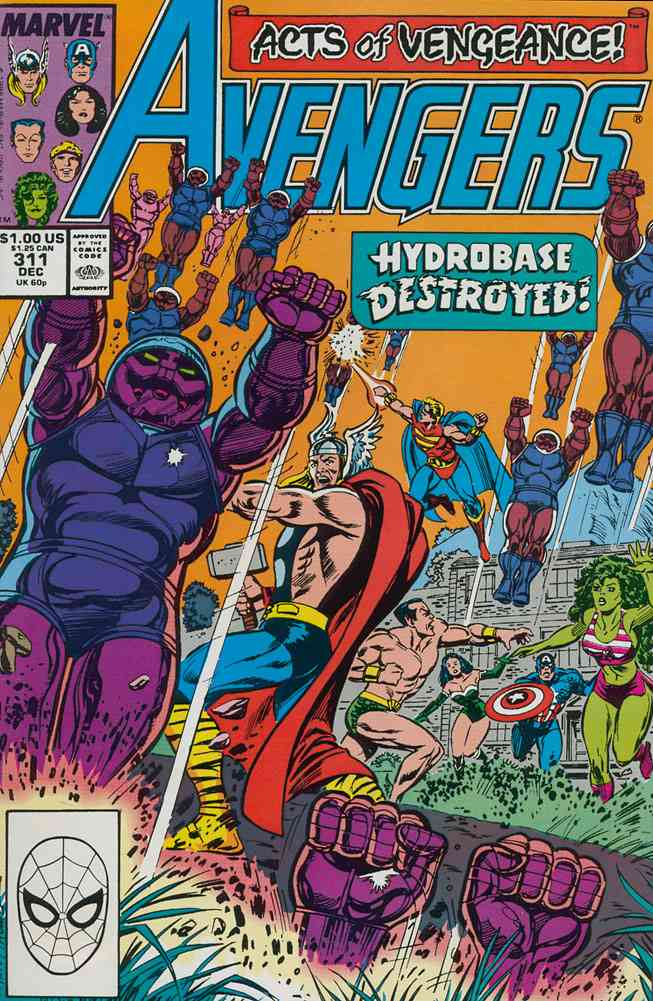 Avengers, The comic issue 311