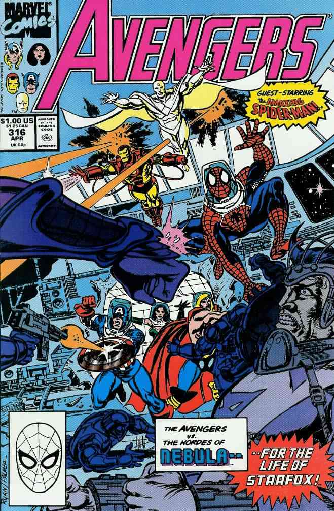 Avengers, The comic issue 316