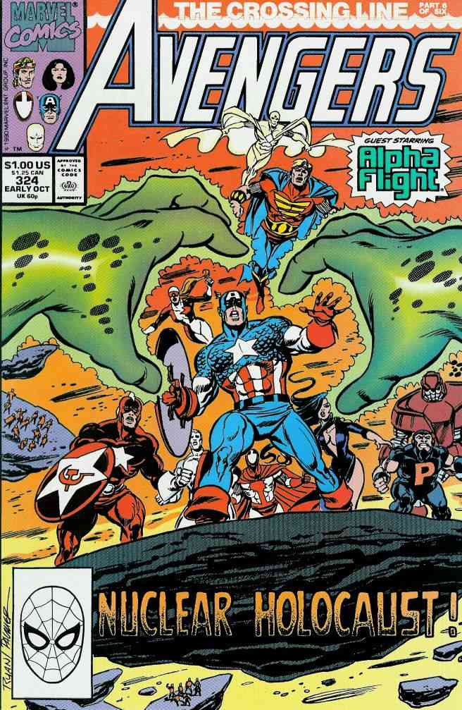 Avengers, The comic issue 324