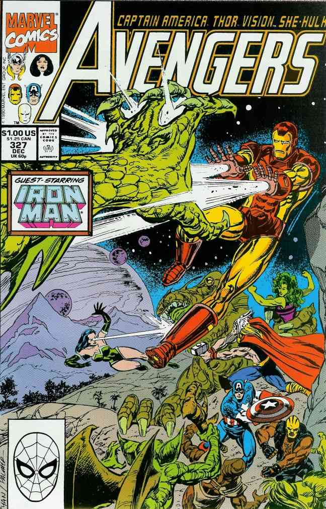 Avengers, The comic issue 327