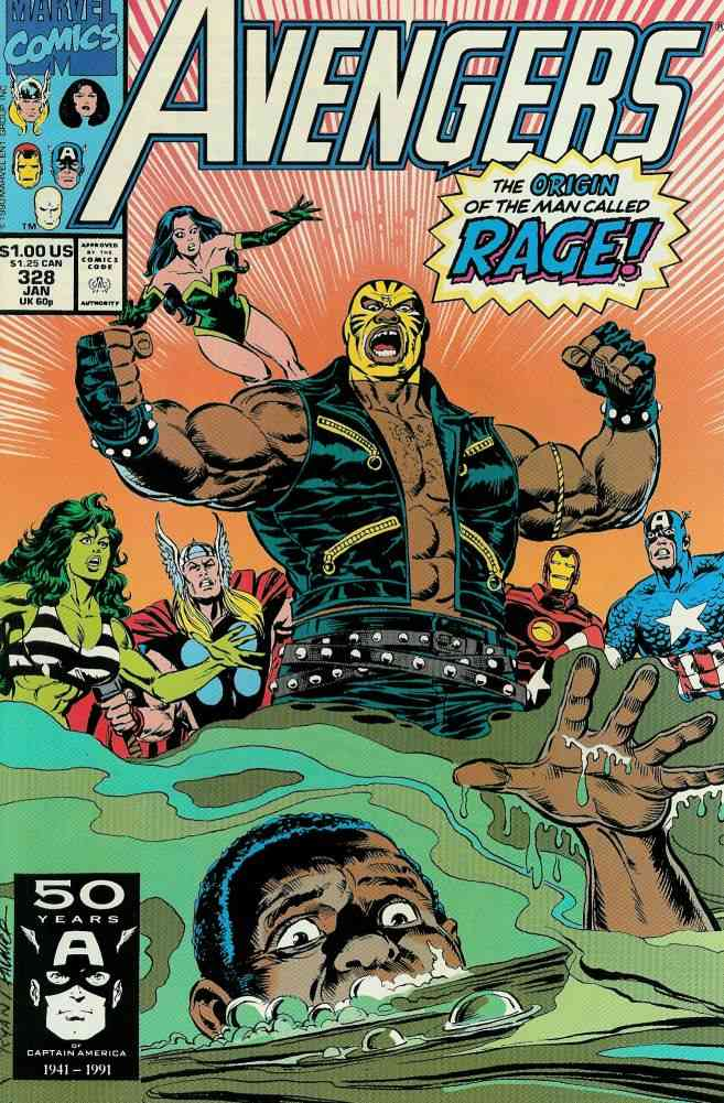 Avengers, The comic issue 328