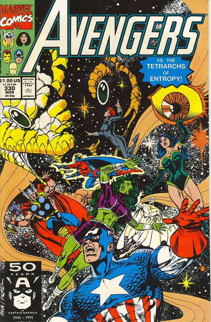 Avengers, The comic issue 330