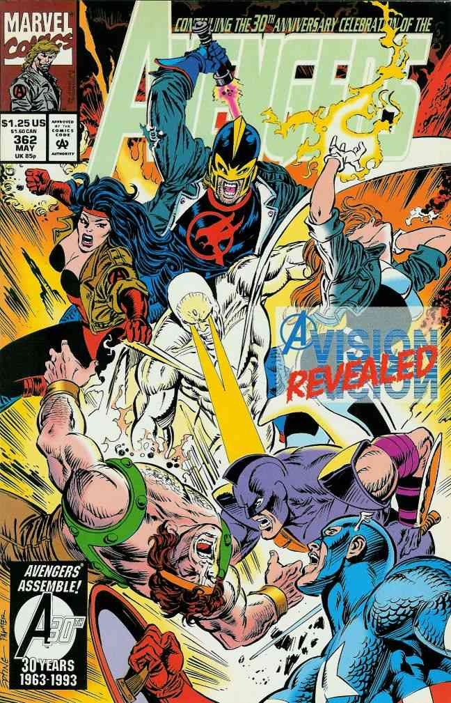 Avengers, The comic issue 362