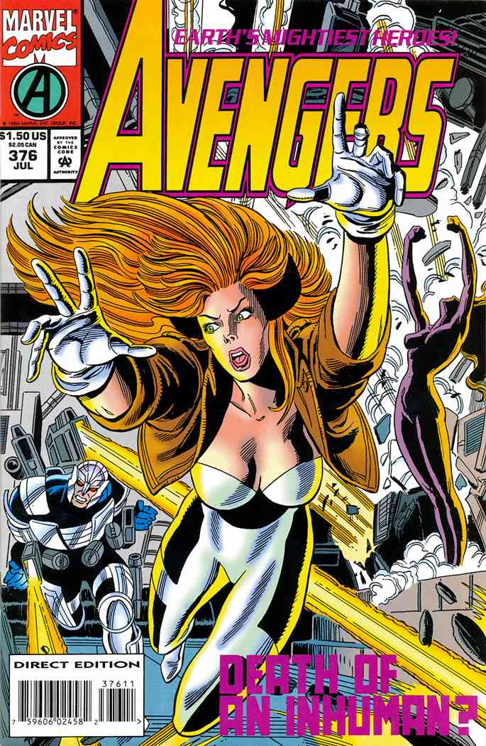 Avengers, The comic issue 376