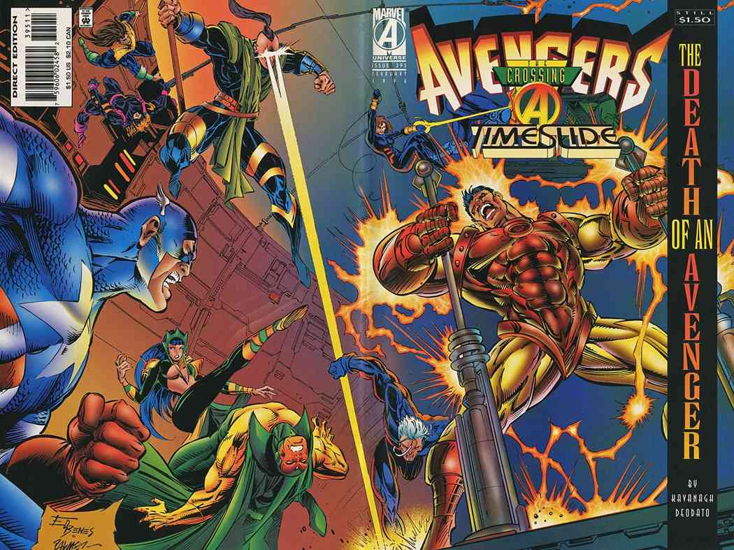 Avengers, The comic issue 395