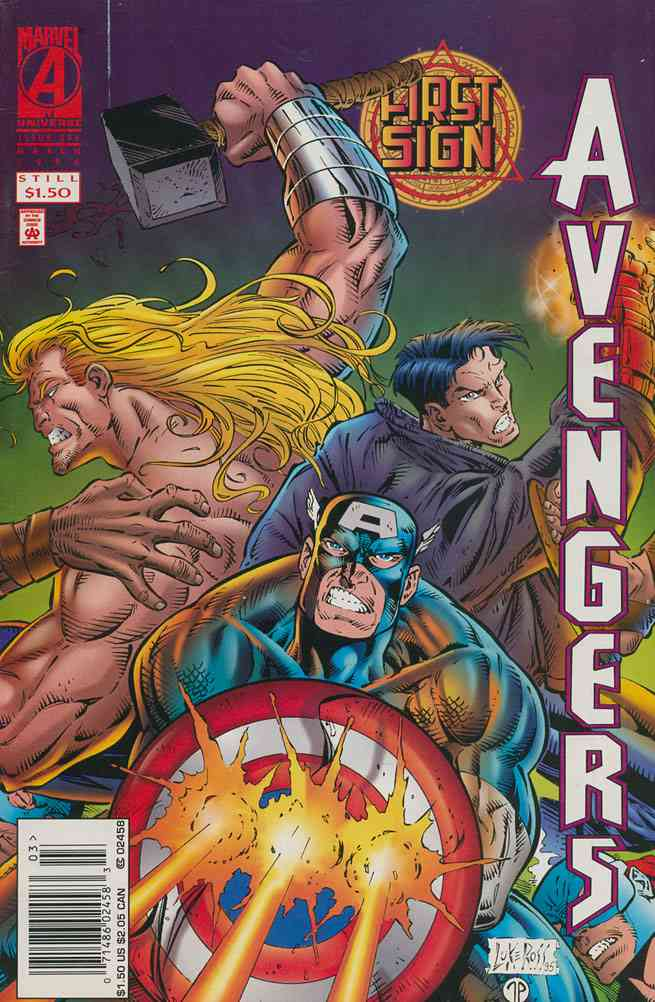 Avengers, The comic issue 396