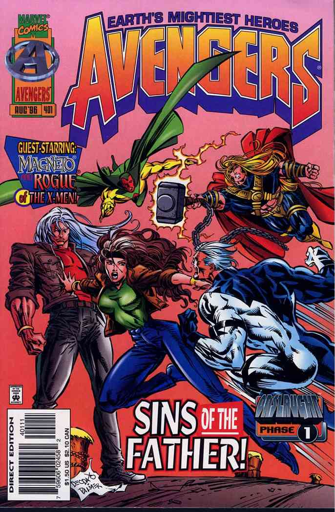 Avengers, The comic issue 401