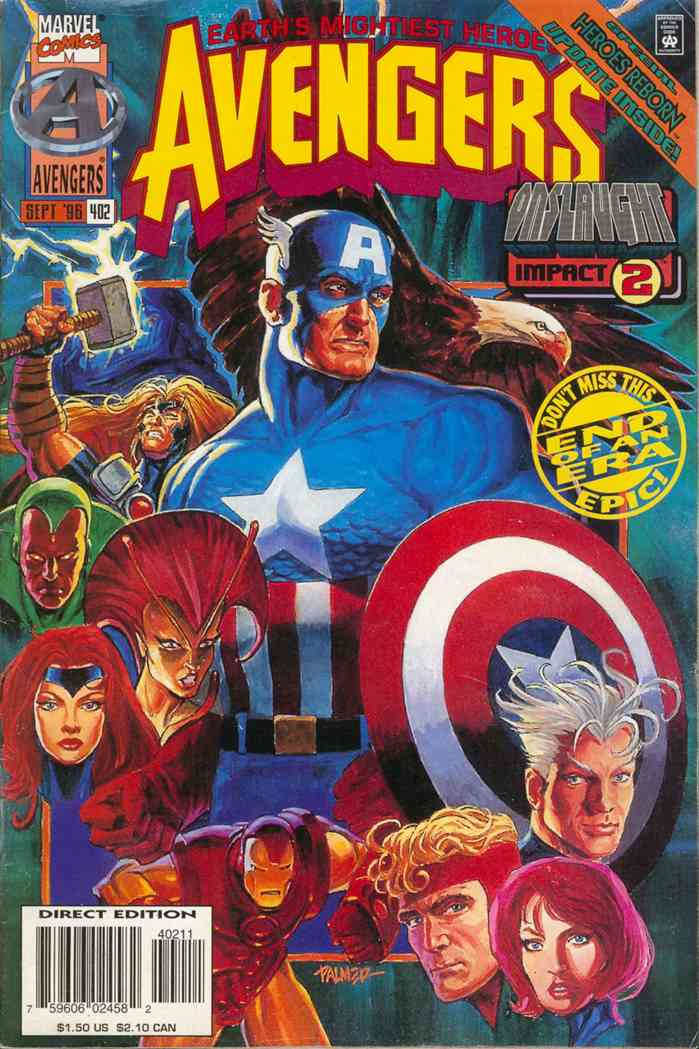 Avengers, The comic issue 402